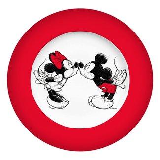 GEDAlabels Disney Plate Mickey Kiss Sketch