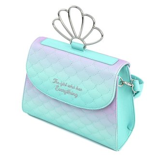 Loungefly Disney by Loungefly Crossbody Little Mermaid Ombre Scales Shell