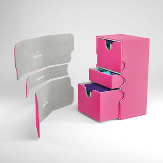 GameGenic DECKBOX STRONGHOLD 200+ CONVERTIBLE PINK