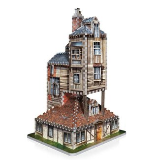 Wrebbit 3D Harry Potter 3D Puzzle The Burrow (Weasley Family Home)