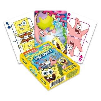 Aquarius SpongeBob Playing Cards Cast