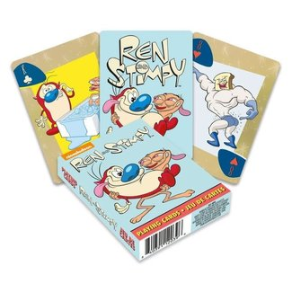 Aquarius Ren & Stimpy Playing Cards Cartoon