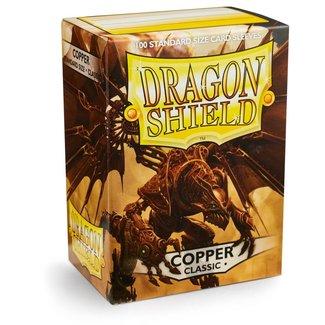 Dragon Shield SLEEVES DRAGON SHIELD - COPPER (100CT)