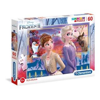 SD Toys Frozen 2 Supercolor puzzle 60 pcs