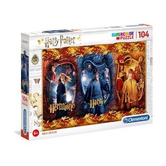 Clementoni Harry Potter Super Color Puzzle Harry, Ron & Hermione