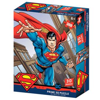 Prime 3D Superman 3D Image Puzzle