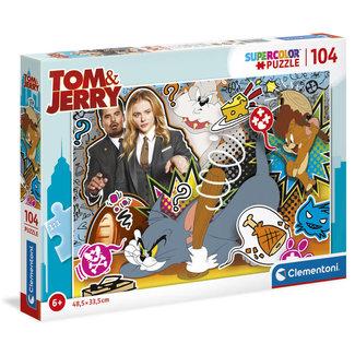 Clementoni Tom & Jerry Supercolor Puzzle 104 pcs