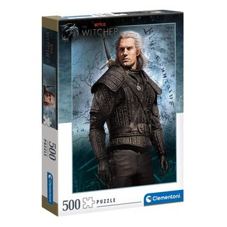 Clementoni The Witcher Jigsaw Puzzle Geralt of Rivia (500 pieces)