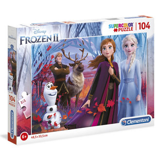 Clementoni Disney Frozen 2 Supercolor Puzzle 104 pcs