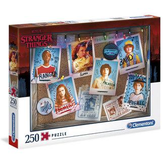 Clementoni Stranger Things Puzzle 250 pcs