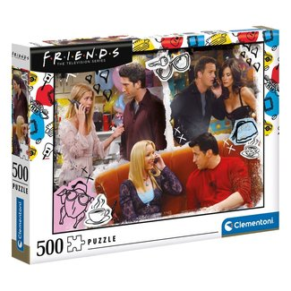 Clementoni Friends Jigsaw Puzzle On The Phone (500 pieces)