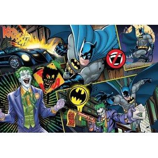 Clementoni DC Comics Supercolor Jigsaw Puzzle Batman (104 pieces)
