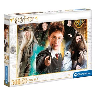 Clementoni Harry Potter Jigsaw Puzzle Harry at Hogwarts (500 pieces)