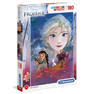 Clementoni Puzzle Frozen 2 Supercolor Puzzle 180 pcs