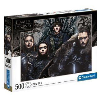 Clementoni Game of Thrones Jigsaw Puzzle House Stark (500 pieces)