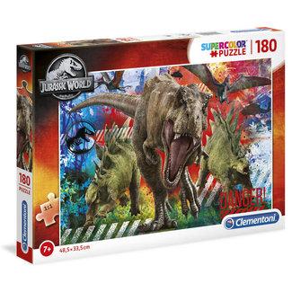 Clementoni Jurassic World Supercolor Puzzle 180 pcs (91069)