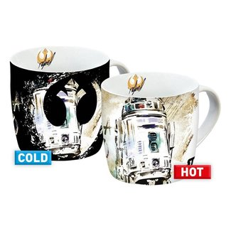 GEDAlabels Star Wars IX Heat Change Mug R2-D2