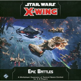 Fantasy Flight STAR WARS X-WING 2.0 EPIC BATTLES MULTIPLAYER EXP.