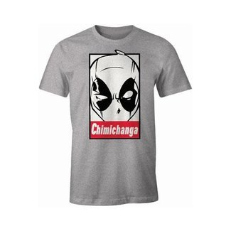 Deadpool T-Shirt Chimichanga - Size Large
