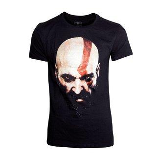 God Of War T-Shirt Kratos Face Size M
