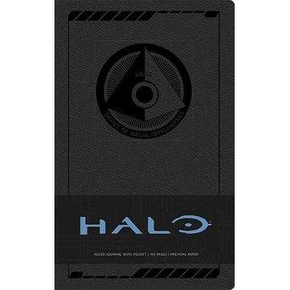 Halo Hardcover Ruled Journal Logo