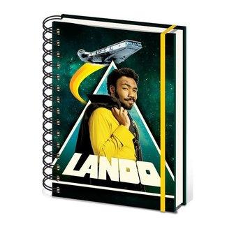 Star Wars Solo Wiro Notebook A5 Lando