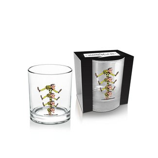 Lucky Luke Whisky Glass Dalton's Brothers