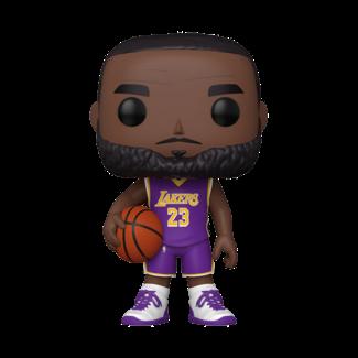 Funko Pop! NBA: LA Lakers - 10 inch LeBron James Purple Jersey