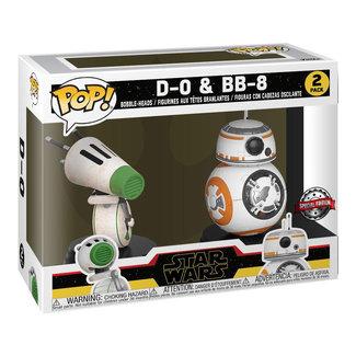 Funko Pop! Star Wars: Rise of Skywalker-2PK-D-O & BB-8