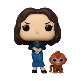 Funko Pop! TV: His Dark Materials - Mrs. Coultier with the Golden Monkey