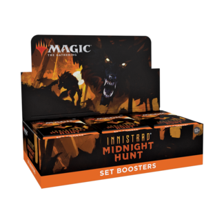Wizards Of The Coast INNISTRAD MIDNIGHT HUNT SET BOOSTER DISPLAY