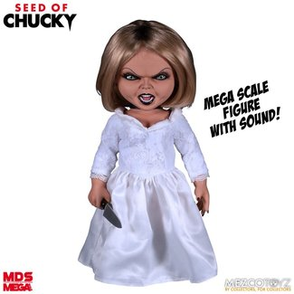Mezco Seed of Chucky MDS Mega Scale Talking Action Figure Tiffany 38 cm