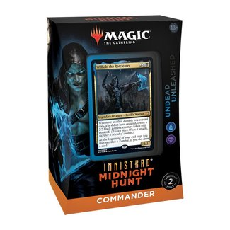 Wizards Of The Coast INNISTRAD MIDNIGHT HUNT COMMANDER DECK: UNDEAD UNLEASHED