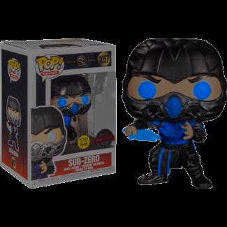 Funko Pop! Movies: Mortal Kombat - Sub-Zero Special Edition (Glows in the Dark)