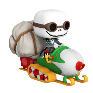Funko Pop! Ride Super Deluxe: The Nightmare Before Christmas - Jack with Goggles and Snowmobile