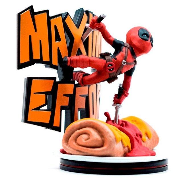Qmx Marvel Q-Fig MAX Diorama Deadpool Maximum Effort 14 cm