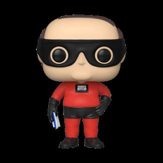 Funko Pop! TV: The Office - Kevin as Dunder Mifflin Superhero