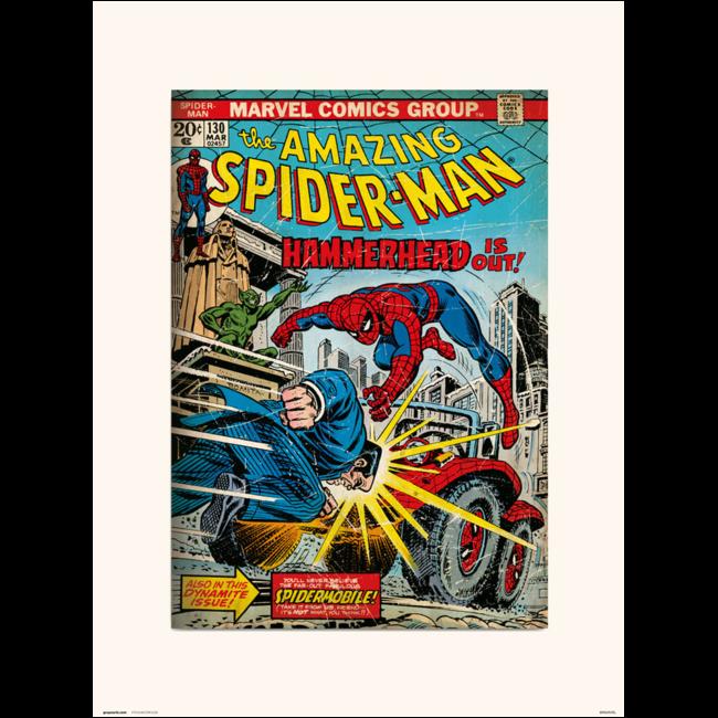 PRINT 30X40 CM MARVEL THE AMAZING SPIDER-MAN 130