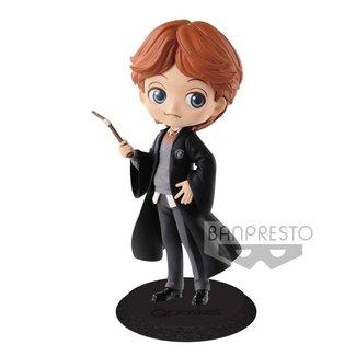 Harry Potter Q Posket Mini Figure Ron Weasley A Normal Color Version 14 cm