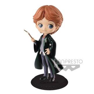 Harry Potter Q Posket Mini Figure Ron Weasley B Pearl Color Version 14 cm