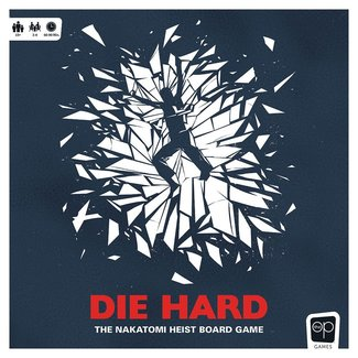 usaopoly Die Hard Board Game The Nakatomi Heist *English Version*