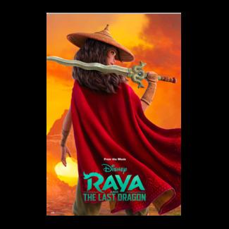 Poster Disney Raya and the last dragon
