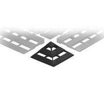 ESD Hoekverbinding voor geleidende kunststof vloerroosters