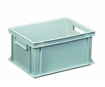 Euro container 400x300x170 solid open handles