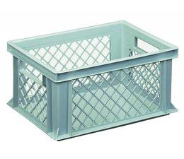 Eurobehälter 400x300x170 mm durchbrochene Wände, geeignet für schwere Lasten und Lebensmittekontakt