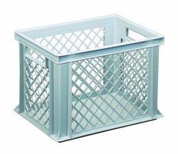 Eurobehälter 400x300x270 mm durchbrochene Wände, geeignet für schwere Lasten und Lebensmittekontakt
