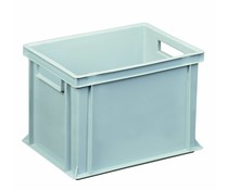 Euro container 400x300x270 solid and reinforced base