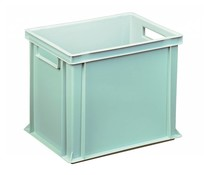 Euro container 400x300x320 solid open handles