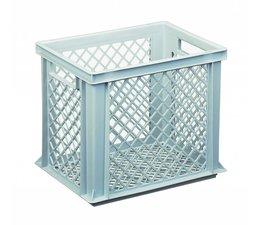 Eurobehälter 400x300x325 mm durchbrochene Wände und Boden, geeignet für schwere Lasten und Lebensmittekontakt