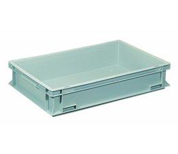 Eurobehälter 600x400x115 mm verstärkter Boden, geeignet für schwere Lasten und Lebensmittekontakt